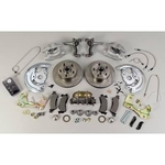 (3) Stainless Steel Brakes Front Drum to Disc Brake Conversion Kits, Disc Brakes, Front, 11 in. Diameter Rotors, 2-Piston Calipers, Buick/ Chevy/ Pontiac, Kit