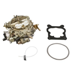 JET Streetmaster Quadrajet Stage 2 Carburetors, Carburetor, Quadrajet Stage 2, 750 cfm, 4-Barrel, Spread Bore, Single Inlet, Dichromate, Chevrolet Style, Each