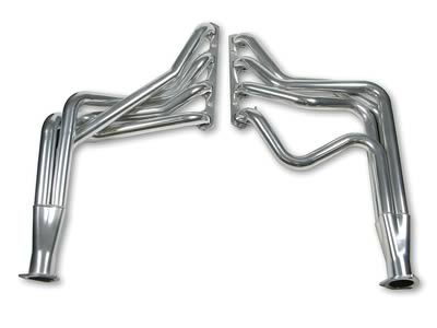 Hooker Competition Headers, Headers, Competition, Ceramic Coated, 1.625 in. Primary, 2.5 in. Collector, Ford, Econoline Van, Pair