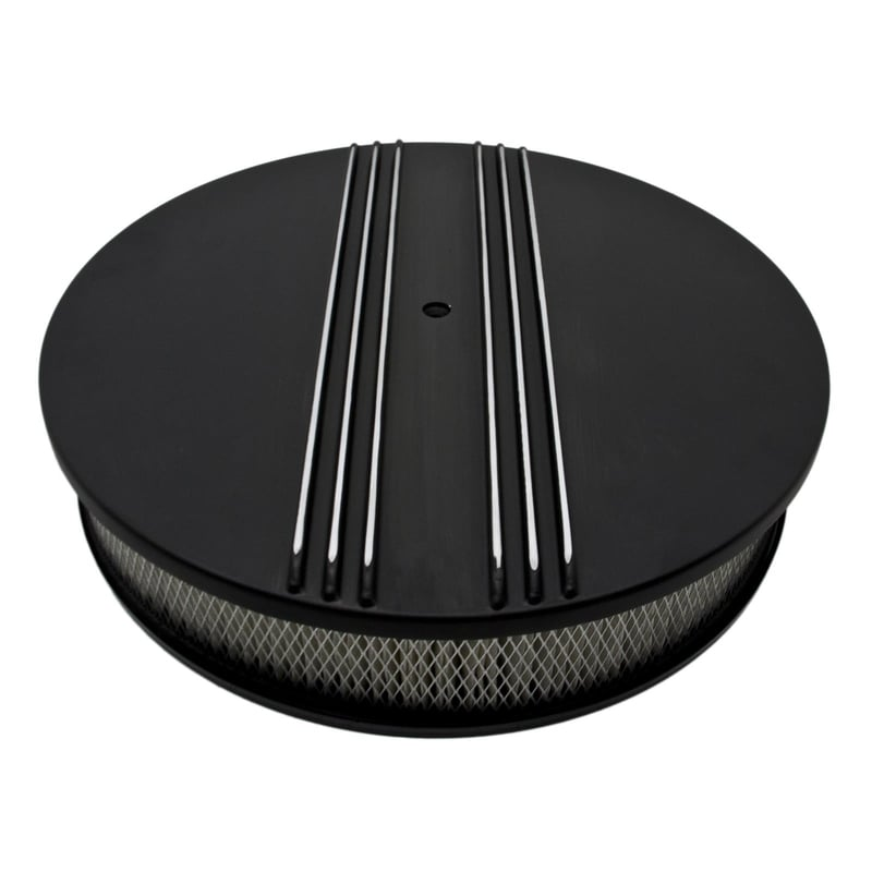 Unique Air Cleaners For Cars : Cal custom™ finned aluminum air cleaners