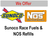 Sunoco Race Fuels and NOS Refills