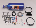 NOS Powershot Nitrous Oxide Systems, Nitrous Oxide System, Powershot, Wet, 125 hp, Square Bore, 4-Barrel, Kit