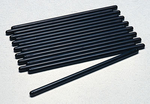Crane Chromemoly Pushrods, Pushrods, Chromemoly, Heat-Treated, 5/ 16 in. Diameter, 7.765 in. Length, Universal, Set of 16
