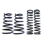 Steeda Autosports Ultralite Suspension Springs, Lowering Springs, Front and Rear, Black Powdercoated, Ford, Mustang, Kit