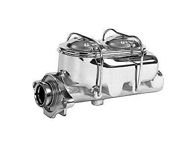 Chrome Master Cylinder, 1-1/8'' Bore