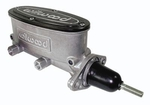 Wilwood Aluminum Tandem Master Cylinders, Master Cylinder, Alloy, Natural, 1 in. Bore, Universal, Each