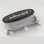 Wilwood Aluminum Master Cylinders, Master Cylinder, Alloy, Natural/ Polished, 1.12 in. Bore, Universal, Each
