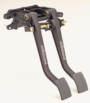 Wilwood Brake/Clutch Pedal Assemblies, Brake/ Clutch Pedal, Aluminum, Black, Forward Mount, Universal, Each