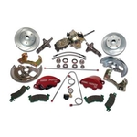 Stainless Steel Brakes Front Drum to Disc Brake Disc Brakes, Front, 11 in. Diameter Rotors, 2-Piston Calipers, Buick/ Chevy/ Pontiac, KitConversion Kits,