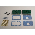 Quick Fuel E85 Billet Metering Block Conversion Kits, Metering Block Conversion, Billet Aluminum, Red Anodized, Quick Fuel, 4150, Kit