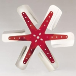 "18"" Red Star Fan"