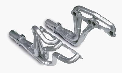 Dynatech MuscleMAXX Headers, Headers, Full-Length, Steel, Ceramic Coated, Chevy, Nova 1968-72, Small Block, Pair