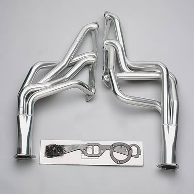Hooker Competition Headers, Headers, Competition, Full-Length, Steel, Ceramic Coated, Pontiac, Firebird, 326-455, Pair