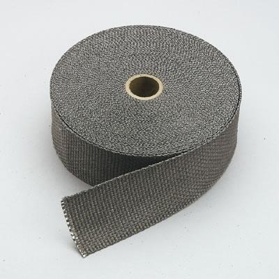 "Thermo Tec 11022 Exhaust Insulating Black  Header Wrap 2/"" Wide 50ft"