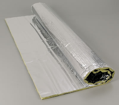 Thermo-Tec Cool-It Insulating Mats, Heat/ Sound Barrier, Cool-It Insulating Mat, Silica Blanketing, Foil Facing, 24 in. x 48 in., Each