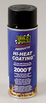 Thermo-Tec Hi-Heat Coating, Exhaust Wrap Coating, High-Temperature, Black, 11 oz. Spray Can, Each