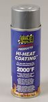 Thermo-Tec Hi-Heat Coating, Exhaust Wrap Coating, High-Temperature, Silver, 11 oz. Spray Can, Each