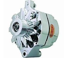 Chrome Delco 10dn, 10si, 12si 140 AMP Alternator