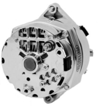 Chrome Delco 10dn, 10si, 12si 100 AMP Alternator