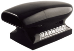 Harwood Fiberglass Dragster Scoops, Hood Scoop, Aero Comp III, 22 in. Long, 13 3/ 4 in. Wide, 14 1/ 2 in. Tall, Fiberglass, Black Gelcoat, Each