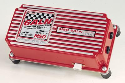 MSD 6TN/6ALN NASCAR CD Ignitions, Ignition Box, 6A, Analog, Capacitive Discharge, Universal, Points/ Electronic, Circle Track/ NASCAR, Each
