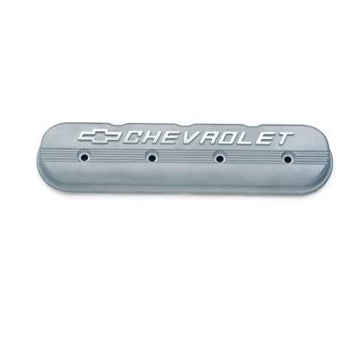 GM Performance Parts Die-Cast Aluminum Valve Covers, Valve Cover, Cast  Aluminum, Natural, Chevrolet Logo, Chevy, Small Block, LS3, Each