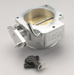 COMP Cams FAST Throttle Bodies, Throttle Body, Billet Aluminum, Clear, 90mm, Chevy/ Pontiac, Camaro/ Corvette/ Firebird, 5.7L, Each