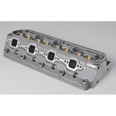 Dart Iron Eagle Cylinder Heads for Small Ford, Cylinder Head, Iron Eagle, Cast Iron, Assembled, 58cc Chamber, 180cc Intake Runner, Ford, 289/ 302/ 351W, Each