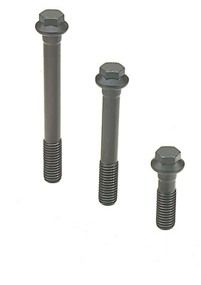 (2) (4) ARP High Performance Series Cylinder Head Bolt Kits, Cylinder Head Bolts, High Performance, Hex Head, Ford, 302, 7/ 16 in. Bolt w/ Step Washer, Kit