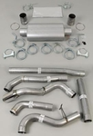 "4""/4"" American Thunder Exhaust 03-06 f250/f350 6.0 Turbo back"
