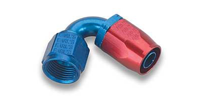 120° Auto-Fit -8AN Fitting, 120° Auto-Fit AN Aluminum Hose End Fittings