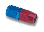 #8 straight swivel seal hose end