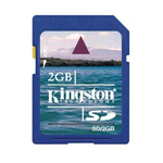2 GB SD Memory Card