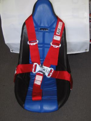Poly Seat with Cover and RJS 5-Way Harness