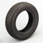 FRONT Hoosier Racing Tire 19050 - Hoosier Pro Street Tires, Tire, Pro Street, LT 26 x 7.5R15, Radial, 965 lbs. Maximum Load, H Speed Rated, Blackwall, Each