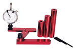 Pinion Depth Gauge, Dial Indicator, Aluminum, Red Anodized, Storage Case, Kit