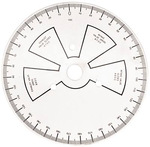 Degree Wheel, 9 in. Diameter, Each