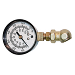 Fuel Pressure Test Kit, 2.50 in. Diameter Gauge, 0-100 PSI, Kit