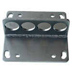 Engine Lift Plate, Steel, Fits Most 2-Barrel and 4-Barrel Intake Manifolds, Each
