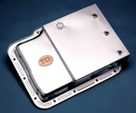 "Power ""Kick-Out"" Steel Transmission Oil Pan"