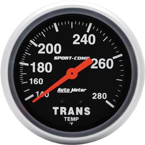 "AM3451 2 5/8"" Sport Comp Mechanical Trans Temperature Gauge"