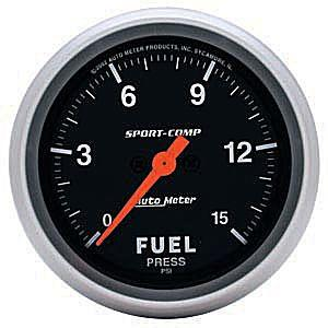 "2-5/8"" Sport Comp Electrical Fuel Pressure Guage"