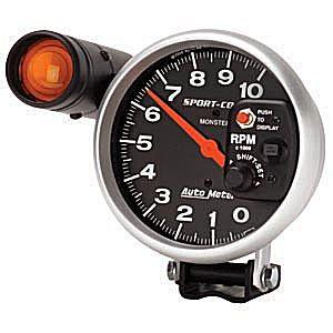 "5"" Sport Comp Electrical Pedestal-Mount Tach"