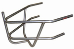 Sprint Car Rear Bumper With Basket. Stainless Steel. Polished.