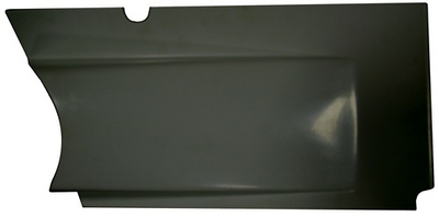 Sprint Car Upper Kick Panel(Horizontal Split Design) Right, Black